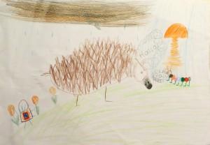 Platz 4 von Luis N. (8 Jahre) - 6 Stimmen