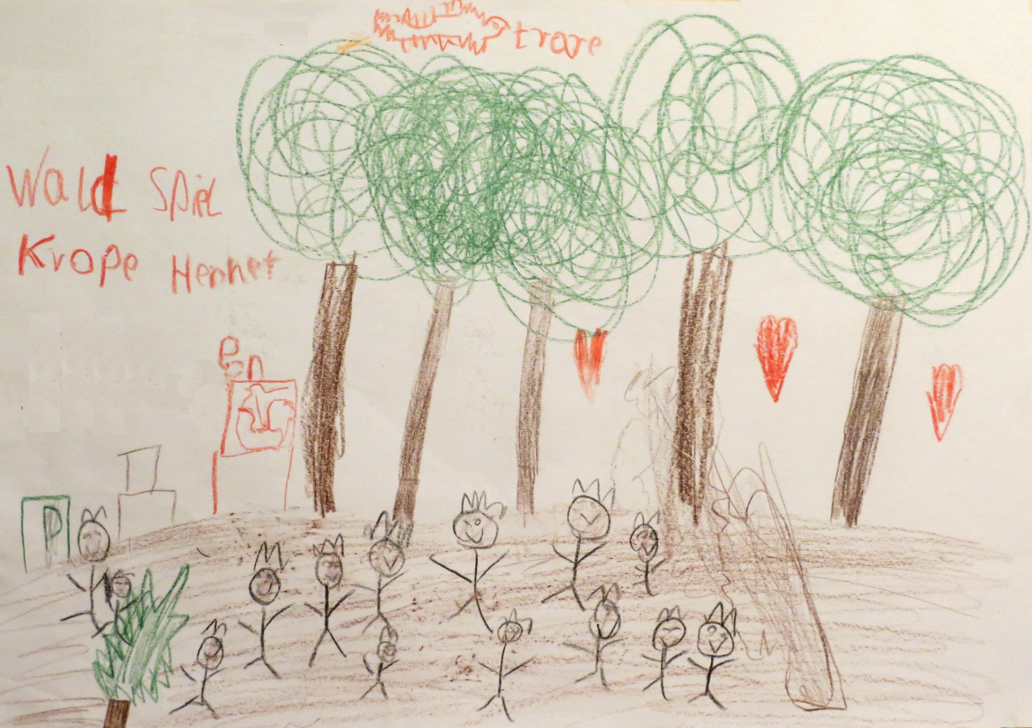 Platz 3 von Luis N. (8 Jahre) - 7 Stimmen